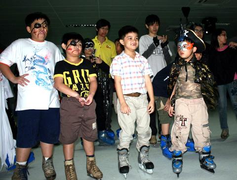Những chàng cướp biển đi giày trượt băng.