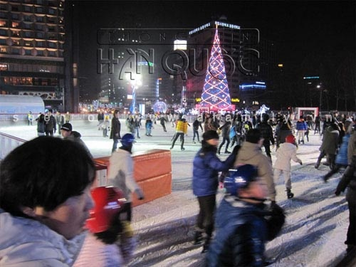 Thích thú ngắm nhìn 6 sân trượt băng nổi tiếng Hàn Quốc 7