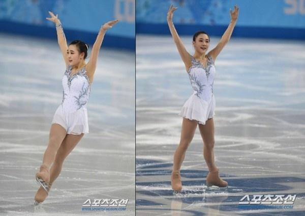 Ấn tượng với hot girl 17 tuổi của làng trượt băng Hàn Quốc 4