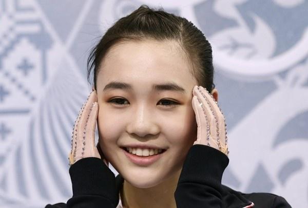 Ấn tượng với hot girl 17 tuổi của làng trượt băng Hàn Quốc 5