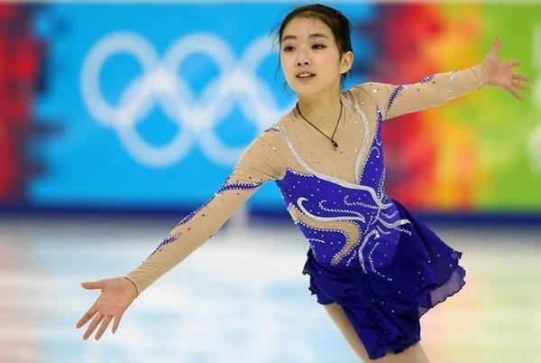 Thiên thần trượt băng Trung Quốc khoe ảnh tại Nhật Bản 1