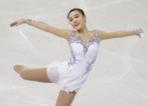 Ấn tượng với hot girl 17 tuổi của làng trượt băng Hàn Quốc 2