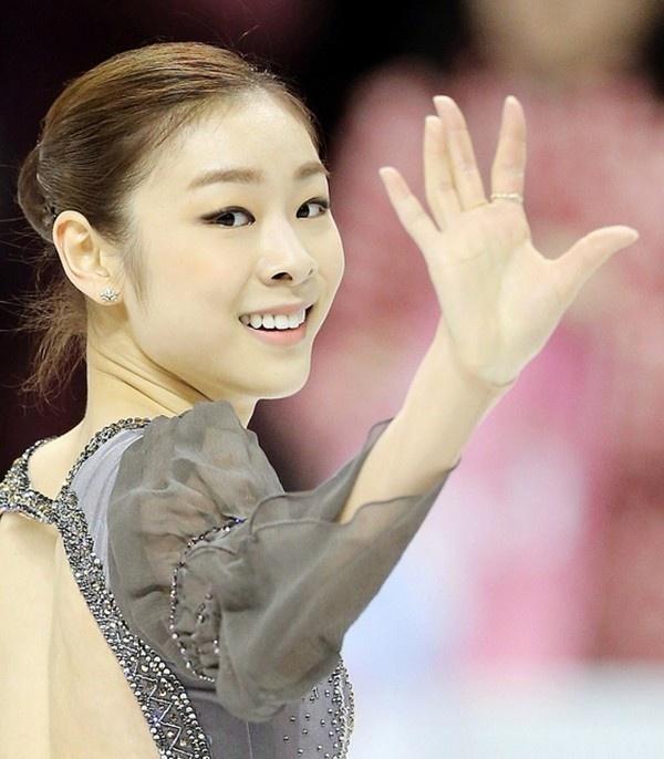 Nữ hoàng trượt băng Hàn Quốc Kim Yuna tỏa sáng tại Croatia 1