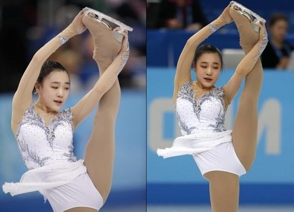 Ấn tượng với hot girl 17 tuổi của làng trượt băng Hàn Quốc 1