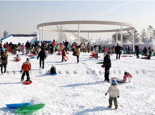 Thích thú ngắm nhìn 6 sân trượt băng nổi tiếng Hàn Quốc 2