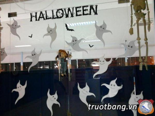 Bắt đầu cho tuần lễ Halloween tại Ice skate lầu 3 Sân Trượt Băng NVH Thanh Niên 3