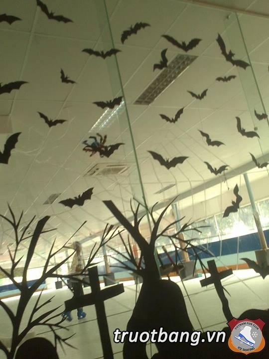 Bắt đầu cho tuần lễ Halloween tại Ice skate lầu 3 Sân Trượt Băng NVH Thanh Niên 4