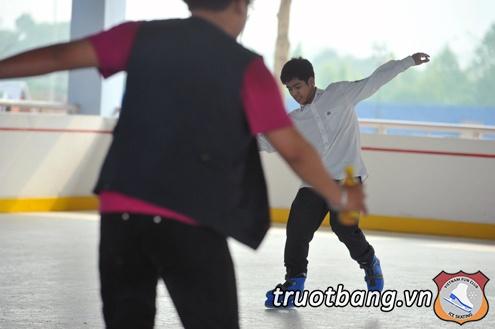 Sân trượt băng nghệ thuật tại trường ĐH FPT Hà Nội 7