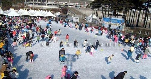 Thích thú ngắm nhìn 6 sân trượt băng nổi tiếng Hàn Quốc 8