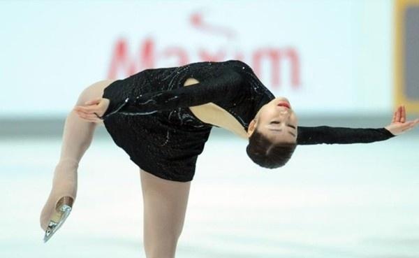 Nữ hoàng trượt băng Hàn Quốc Kim Yuna tỏa sáng tại Croatia 2