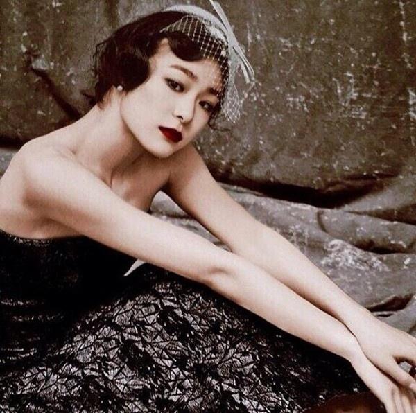 Nữ hoàng băng giá Kim Yuna khoe vẻ đẹp cổ điển trên bìa tạp chí 4