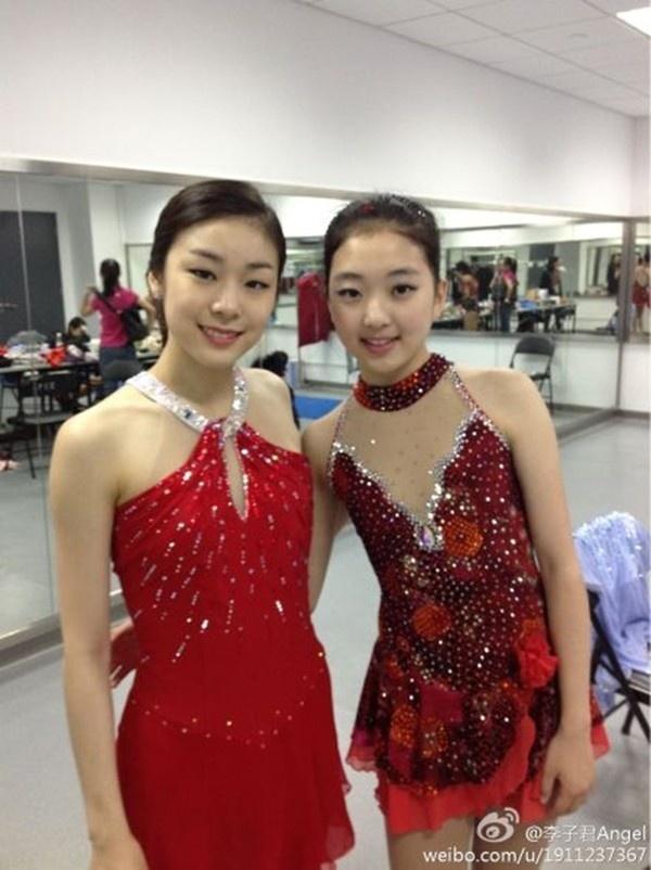 Thiên thần trượt băng Trung Quốc khoe ảnh tại Nhật Bản 8