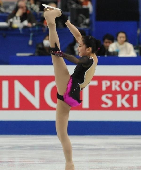Thiên thần trượt băng Trung Quốc khoe ảnh tại Nhật Bản 3