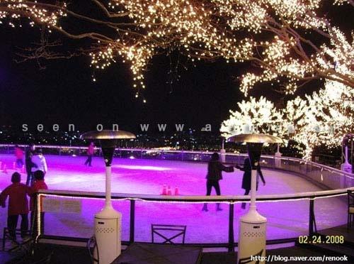 Thích thú ngắm nhìn 6 sân trượt băng nổi tiếng Hàn Quốc 3