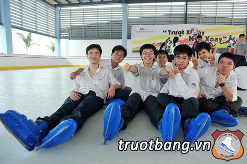 Sân trượt băng nghệ thuật tại trường ĐH FPT Hà Nội 12