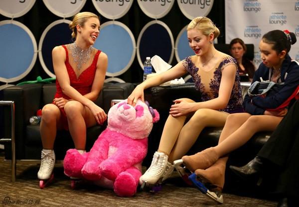 Vẻ đẹp rạng ngời của VĐV trượt băng nghệ thuật Gracie Gold 3