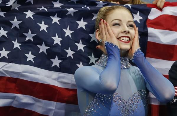 Vẻ đẹp rạng ngời của VĐV trượt băng nghệ thuật Gracie Gold 9