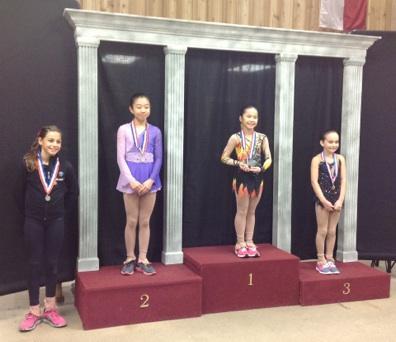 Bé gái gốc Việt Kathy Mai ấn tượng với tài năng trượt băng nghệ thuật 1