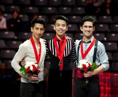 VĐV gốc Việt vô địch trượt băng nghệ thuật Canada 1