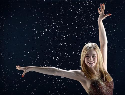 """Vẻ đẹp thơ ngây của """"Công chúa trượt băng tuổi teen"""" 1"""