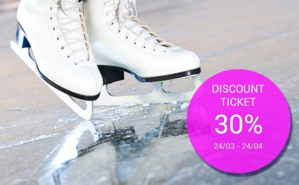 Chương trình giảm giá vé trượt băng 1
